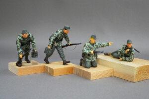 武装山岳師団 ドラゴン 1/35 組立と塗装・製作記・完成写真