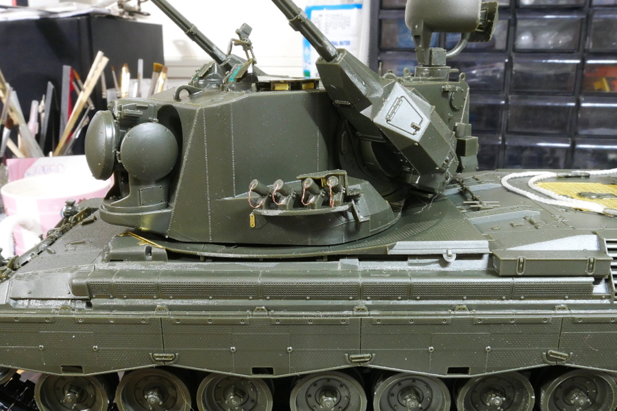 ドイツ連邦軍 ゲパルト自走対空砲 A1/A2 メンモデル 1/35 組立
