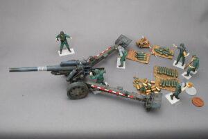 ドイツ軍砲兵 s.FH18重榴弾砲 トランペッター 1/35 組立と塗装・製作記・完成写真