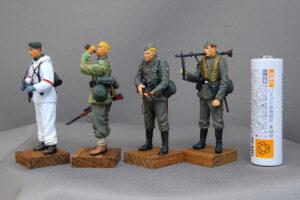 ドイツ武装親衛隊 ロシア 1941-1943 ドラゴン 1/35 完成写真