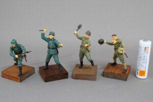 独ソ戦 東部戦線 白兵戦 1941-1942 マスターボックス 1/35 完成写真
