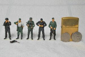 ドイツ軍歩兵と戦車兵 戦闘準備 ドラゴン 1/35 完成写真