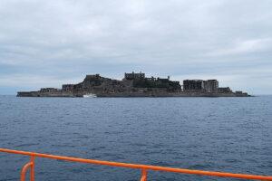 戦艦「土佐」に似ているということで軍艦島というあだ名が付いた。