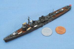 駆逐艦 初春 1941年 アオシマ 1/700 組立と塗装・製作記・完成写真