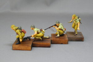 日本陸軍歩兵セット 大日本帝国陸軍歩兵 タミヤ 1/35 組立と塗装・製作記・完成写真