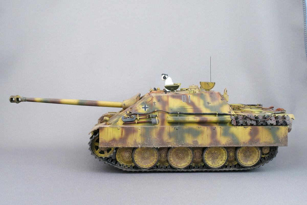ヤークトパンター G1型 Sd.Kfz.173 メンモデル 1/35 完成写真
