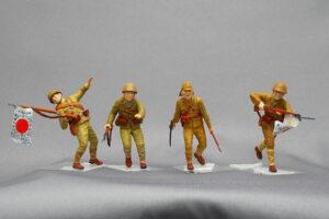 大日本帝国海軍陸戦隊 タラワの戦い マスターボックス 1/35 組立と塗装・製作記・完成写真