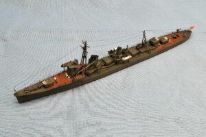 駆逐艦 陽炎 アオシマ 1/700 組立と塗装・製作記・完成写真