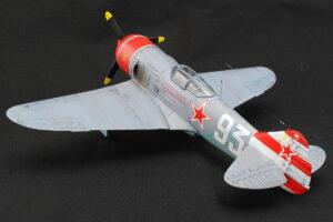 ラボーチキン La-7 アカデミー 1/48 マーキングは第156戦闘機連隊のエースパイロット、セルゲイ F. ドルグーシン中佐 乗機「93」