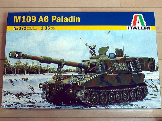 M109A6 パラディン イタレリ 1/35 箱絵 ボックスアート