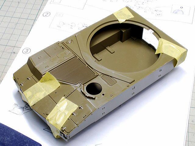 M109A6 パラディン イタレリ 1/35 大型パーツをたくさん組みました