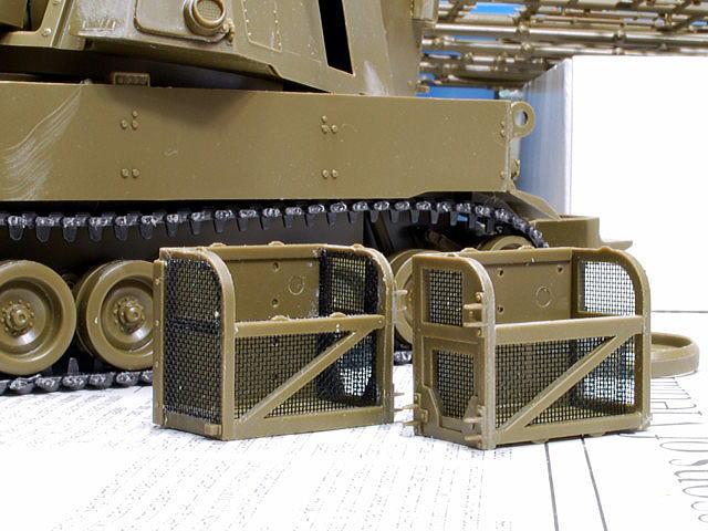 M109A6 パラディン イタレリ 1/35 サイドラックのネット