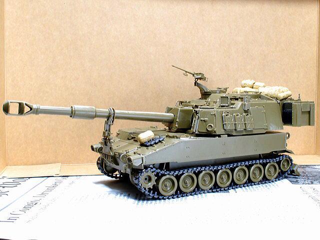 M109A6 パラディン イタレリ 1/35 組立完了
