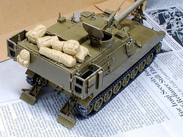 M109A6 パラディン イタレリ 1/35 タミヤのアメリカ現用車両装備品セット
