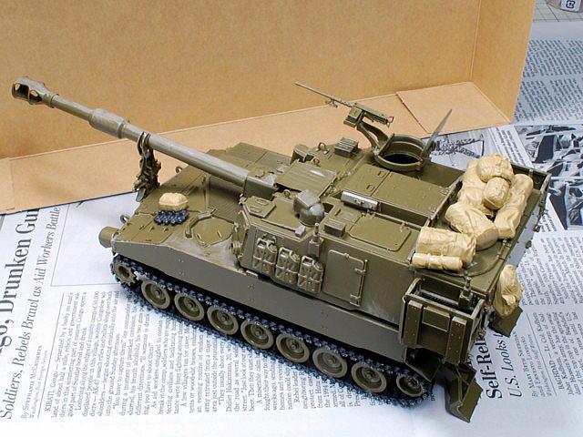 M109A6 パラディン イタレリ 1/35 ドラゴンの現用米軍セット
