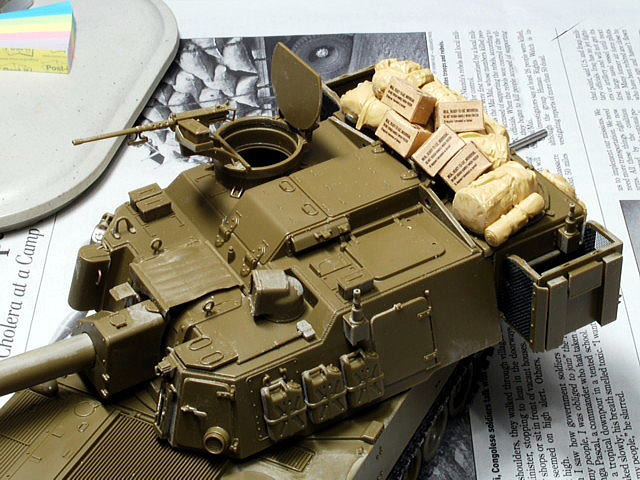 M109A6 パラディン イタレリ 1/35 コンバットレーション用カートン