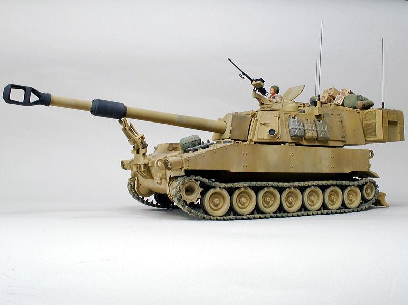M109A6 パラディン イタレリ 1/35 M284 39口径 155mm榴弾砲