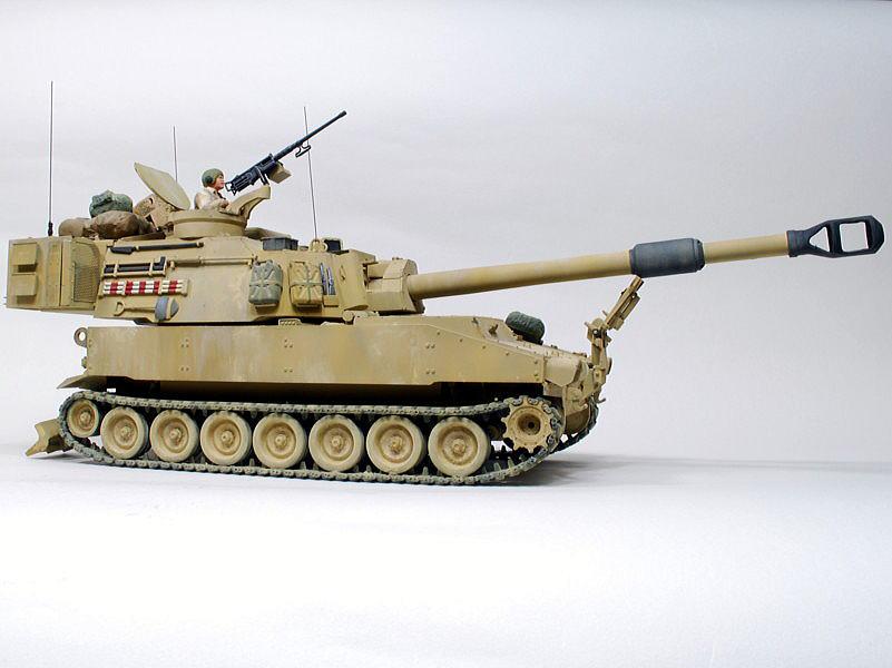 M109A6 パラディン イタレリ 1/35 パステルやウォッシング