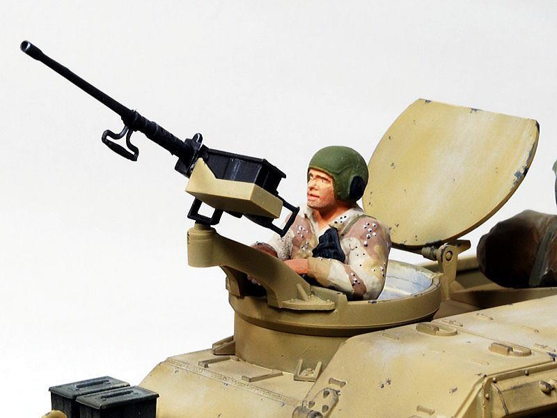 M109A6 パラディン イタレリ 1/35 アメリカ軍現用戦車兵 ICM