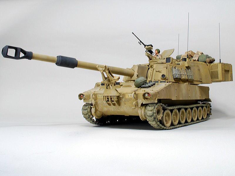 M109A6 パラディン イタレリ 1/35 完成写真