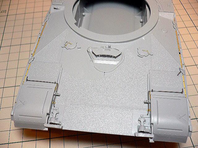 M1A1エイブラムス AIM ドラゴン 車体組立