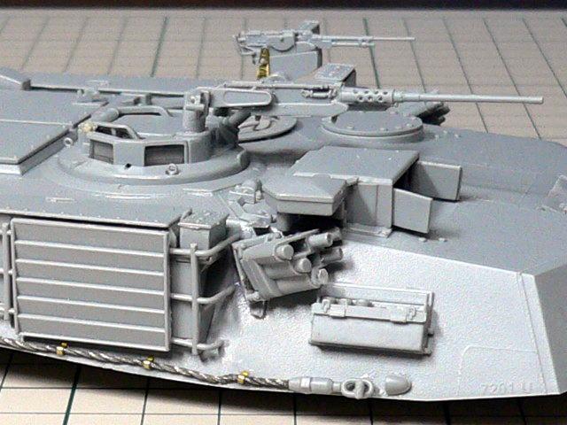 M1A1エイブラムス AIM ドラゴン 組立 スモークディスチャージャー