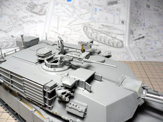 M1A1エイブラムス AIM ドラゴン 組立
