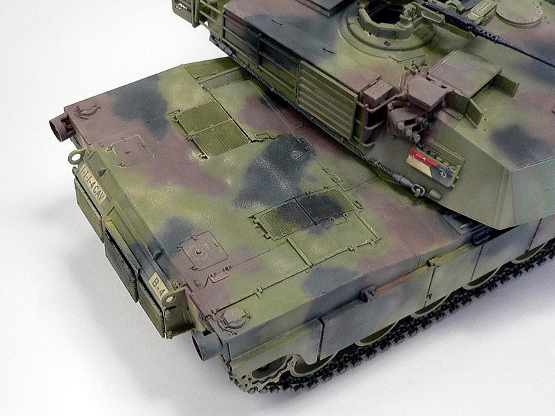 M1A1エイブラムス AIM ドラゴン 完成写真