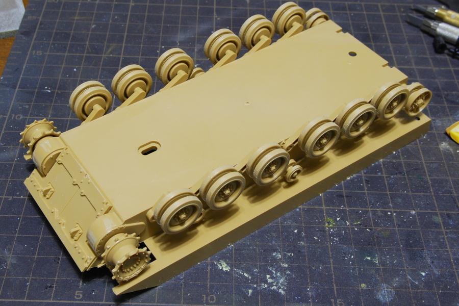 M2A2ODS ブラッドレー タミヤ 1/35 転輪など