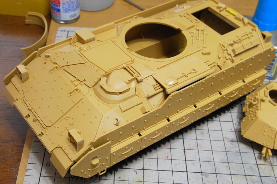 M2A2ODS ブラッドレー タミヤ 1/35 増加装甲