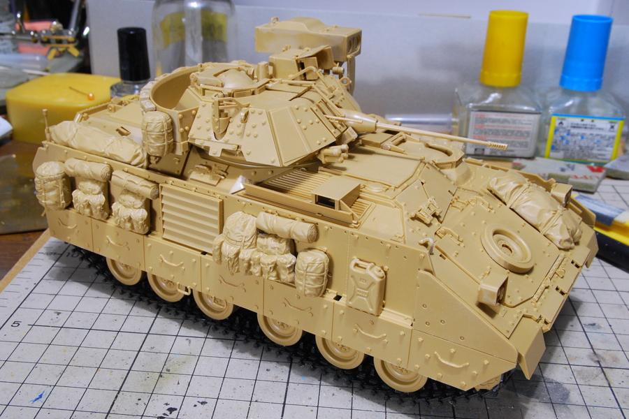 M2A2ODS ブラッドレー タミヤ 1/35 アクセサリー