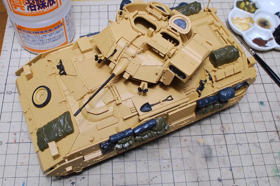 M2A2ODS ブラッドレー タミヤ 1/35 19番のサンディブラウン