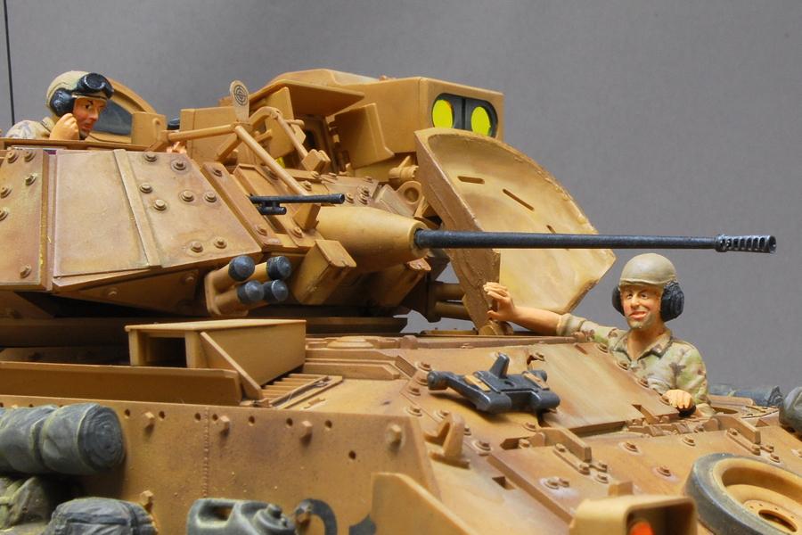 M2A2ODS ブラッドレー タミヤ 1/35 完成写真 戦車兵 タミヤ 1/35