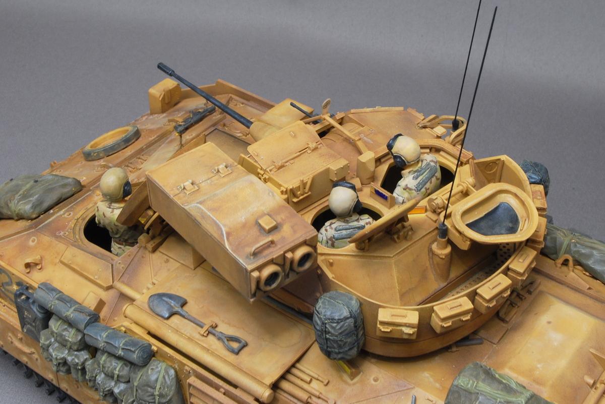 M2A2ODS ブラッドレー タミヤ 1/35 完成写真