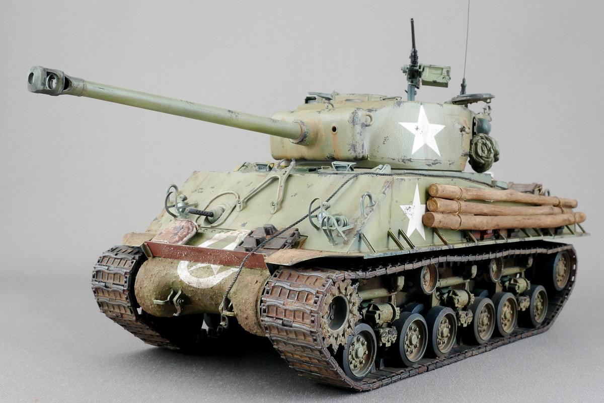 M4A3E8 シャーマン イージーエイト アスカ 1/35 完成写真
