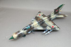 MIG-21MF フィッシュベッドJ アカデミー 1/48 完成写真