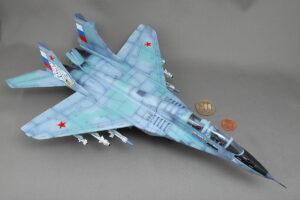 MiG-29 UB ラーストチカ フルクラムB ファルクラム アカデミー 1/48 完成写真