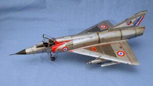 ダッソー・ミラージュIIIc エデュアルド 1/48 完成写真 代表的なデルタ翼の戦闘機