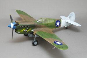 P-40E ウォーホーク ハセガワ 1/48 完成写真