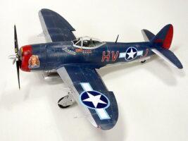 P-47M サンダーボルト タミヤ 1/48 完成写真