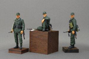 ドイツ装甲擲弾兵 ドラゴン 1/35 組立と塗装・製作記・完成写真