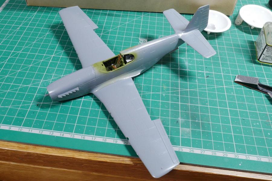 ノースアメリカン RAF マスタングIII タミヤ 1/48 組立