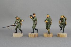 ソ連軍歩兵 1941-42年 東部戦線シリーズ No.2 マスターボックス 1/35 完成写真