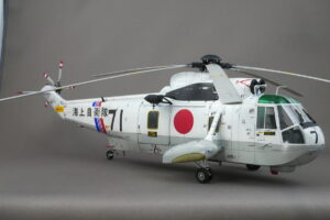 シコルスキー SH-3D/HSS-2A シーキング 海上自衛隊 ハセガワ 1/48 完成写真