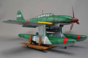 晴嵐 タミヤ 1/48 組立と塗装・製作記・完成写真 初めて製作した水上機