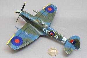 スピットファイア Mk. XII エアフィックス 1/48 完成写真