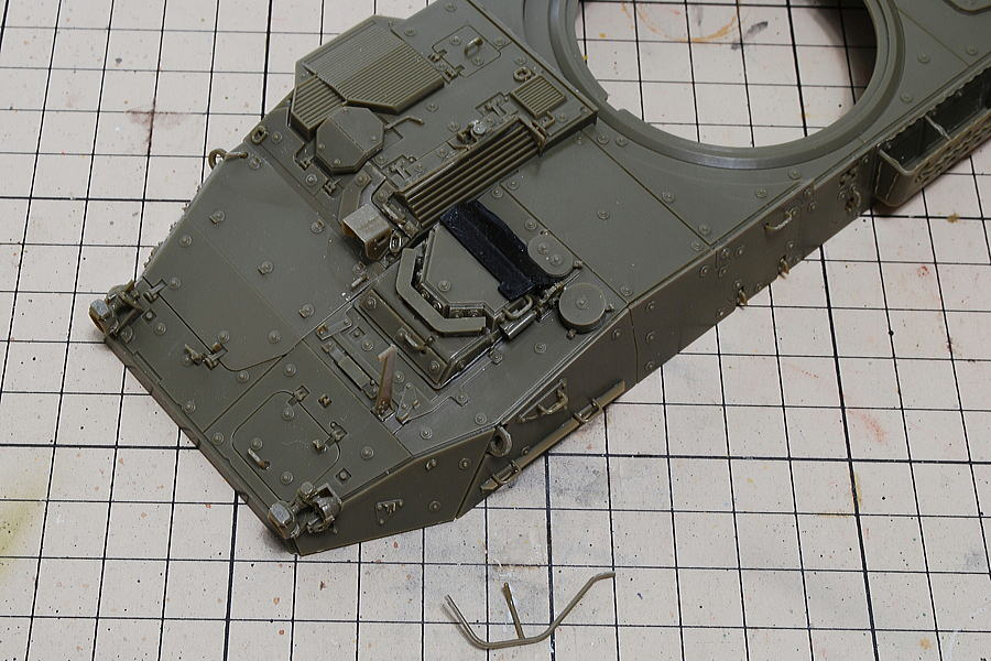 M1128 MGSストライカー AFVクラブ 1/35 AFVクラブの組立説明図は明解