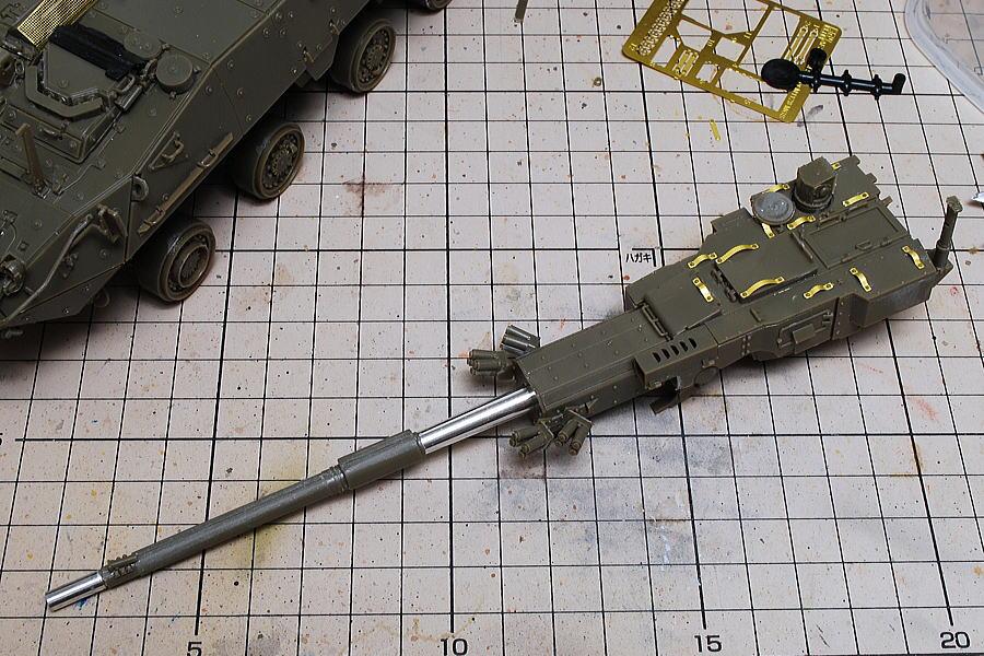 M1128 MGSストライカー AFVクラブ 1/35 エッチングパーツの取っ手