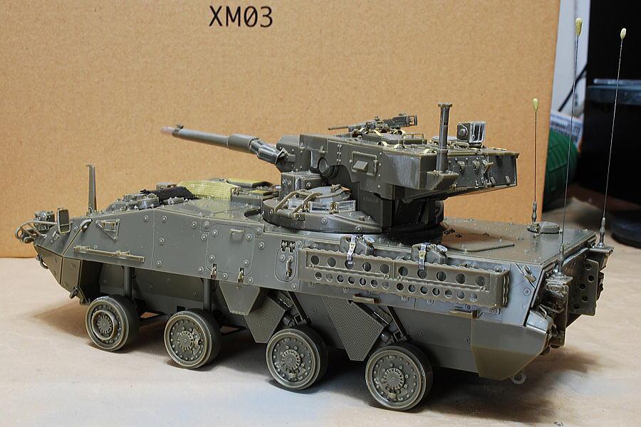 M1128 MGSストライカー AFVクラブ 1/35 予備燃料のジェリカン