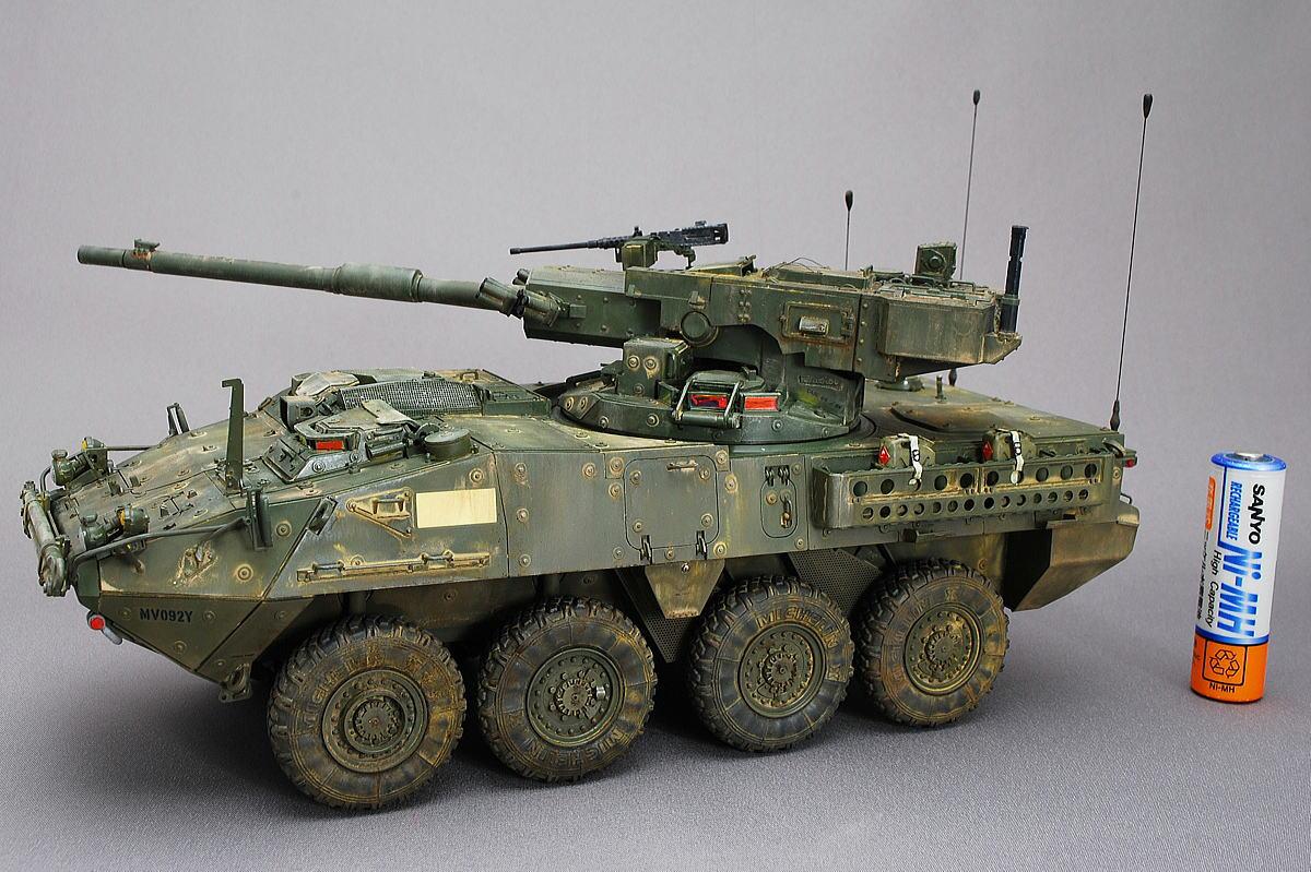 M1128 MGSストライカー AFVクラブ 1/35 組立と塗装・製作記・完成写真